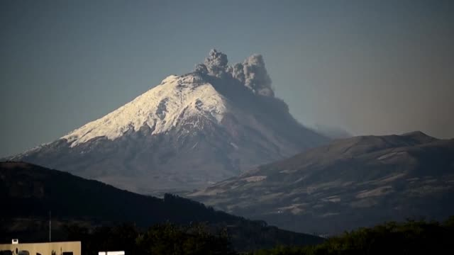 Nearly 325000 people could be affected by an eruption of Cotopaxi the volcano looming beyond the Ecuadoran capital of Quito that has begun spewing ash