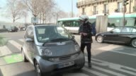 Nearly a third of the 22 regions in mainland France are on a maximum pollution alert CLEAN Paris police try to divert traffic from ci on March 13...