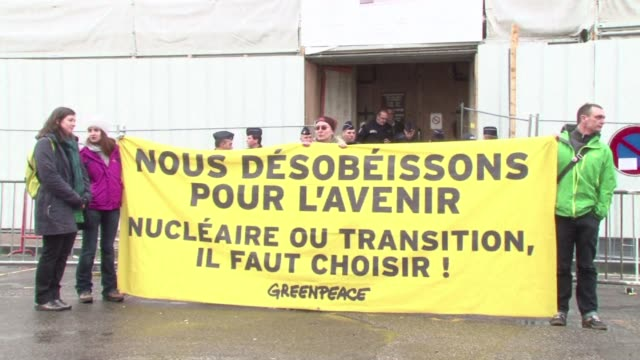 Nearly thirty Greenpeace activists go on trial for entering the Tricastin nuclear power station last July facing up to a year in prison CLEAN...