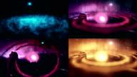 Nebula, Galaxy, Space. 4k