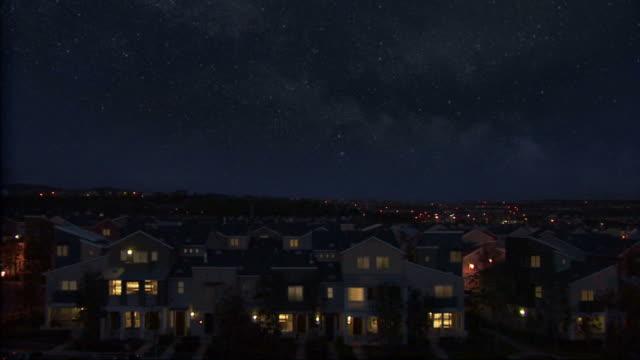 Umgebung bei Nacht mit shooting star.