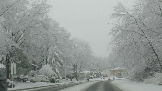 US neighborhoods:  during winter