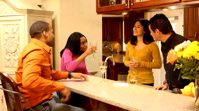 Neighbors Enjoy Friendship at Home