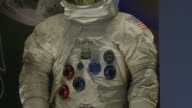 Neil Armstrong's space suit on display at NASA