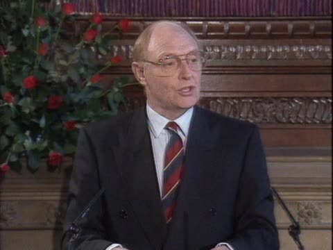 Neil Kinnock announces his resignation as leader of the Labour Party