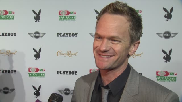 INTERVIEW Neil Patrick Harris on the party New Orleans and the superbowl at The Playboy Party Presented By Crown Royal at Jax Brewery Bistro on...