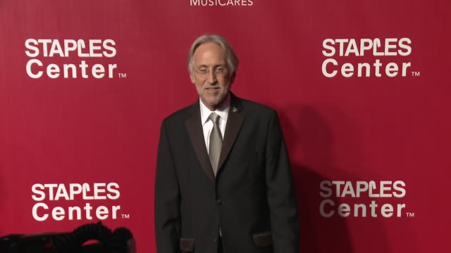 Neil Portnow at the 2016 MusiCares Person of The Year Honoring Lionel Richie at Los Angeles Convention Center on February 13 2016 in Los Angeles...