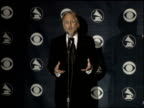 Neil Portnow CEO of NARAS at the 2007 Grammy Awards press room at Staples Center in Los Angeles California on February 11 2007