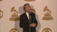 SPEECH Neil Portnow on censorship at The 55th Annual GRAMMY Awards Press Room 2/10/2013 in Los Angeles CA