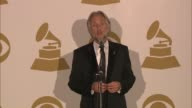 SPEECH Neil Portnow on dress code at The 55th Annual GRAMMY Awards Press Room 2/10/2013 in Los Angeles CA