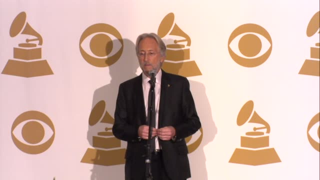 INTERVIEW Neil Portnow on the awards at The GRAMMY Nominations Concert Live Countdown To Music's Biggest Night on 12/6/2013 in Los Angeles CA