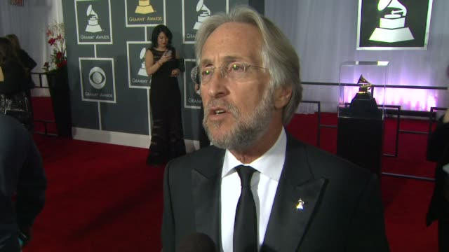 INTERVIEW Neil Portnow on why the event is so great at The 55th Annual GRAMMY Awards Arrivals Interviews in Los Angeles CA on 2/10/13