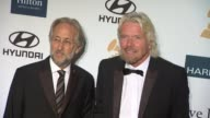 Neil Portnow Richard Branson at Clive Davis And The Recording Academy's 2012 PreGRAMMY Gala And Salute To Industry Icons Honoring Richard Branson on...
