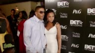 Nelly and Ashanti at the PreBET Awards Dinner and Party at Boulevard 3 in Los Angeles California on June 25 2007