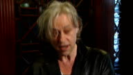 Bill Clinton Bob Geldof and Will Smith interviews Bob Geldof interview SOT Mandela hasn't retired from politics He's very interested in what is going...
