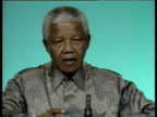 Nelson Mandela comments on Lockerbie trial