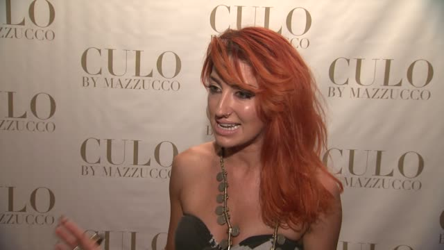 Neon Hitch on butts and the naked body at the 'CULO By Mazzucco' Launch at New York NY
