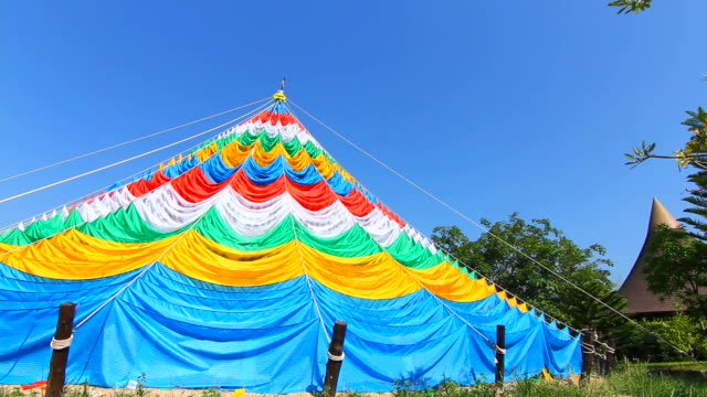 Nepalese stupa Dome prayer flags