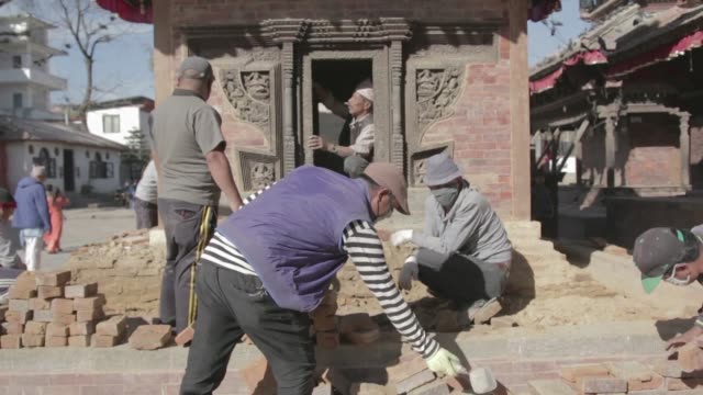 Nepal's laws grant contracts to rebuild quake damaged heritage sites to the lowest bidder raising alarm over the quality and techniques being used...