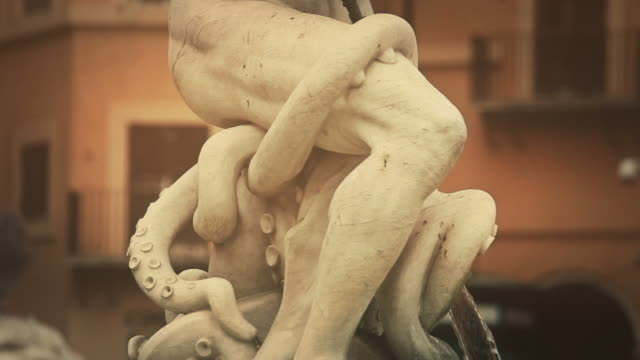 Neptune Statue Masterpiece in Rome