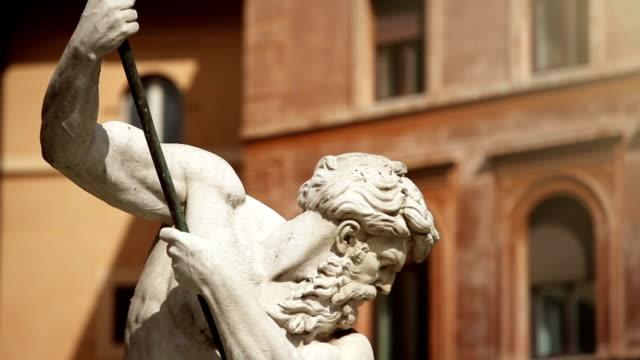 Neptune Statue Meisterwerk in Rom