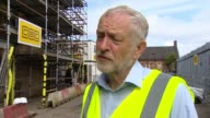 Net UK migration falls to lowest level in three years SCOTLAND Glasgow EXT Jeremy Corbyn MP intervew SOT NHS facing recruitment problems becuase of...