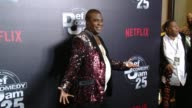 CHYRON Netflix Presents 'Def Comedy Jam' 25 Anniversary Special Arrivals at The Beverly Hilton Hotel on September 10 2017 in Beverly Hills California
