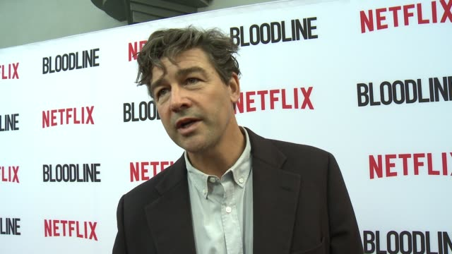 CHYRON Netflix's 'Bloodline' Season 3 Red Carpet at ArcLight Cinemas on May 24 2017 in Culver City California