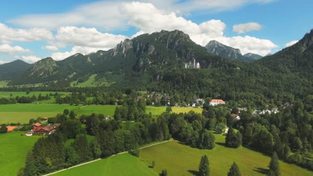 Neuschwanstein Castle And Its Surroundings