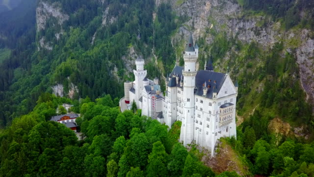 Neuschwanstein Castle in Hohenschwangau, Germany