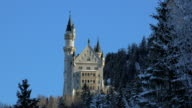 Neuschwanstein Castle near Schwangau, Svabia, Bavaria, Germany