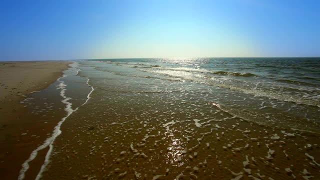 Never ending beach from Amrum in Germany