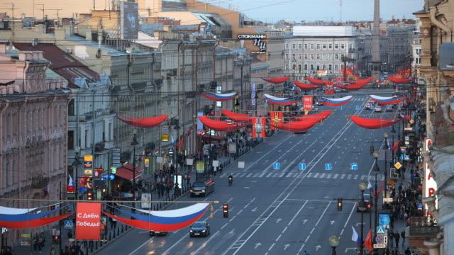 T/L HA FOCUSING Nevsky Prospekt evening
