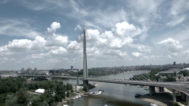 New Belgrade bridge