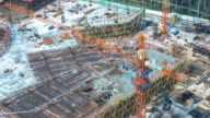 new construction site in hangzhou timelapse 4k