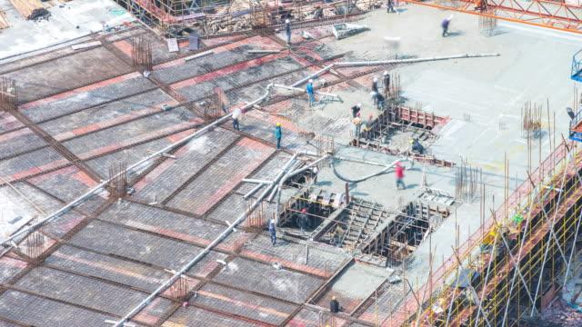 Neue Baustelle in Hangzhou timelapse 4 K