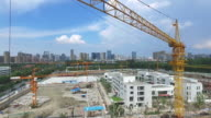 new constructions site in modern city