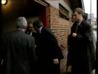 New Court launched ITN ENGLAND Yorkshire Leeds EXT Home Secretary Jack Straw MP arriving to open new court dedicated to hearing cases involving...