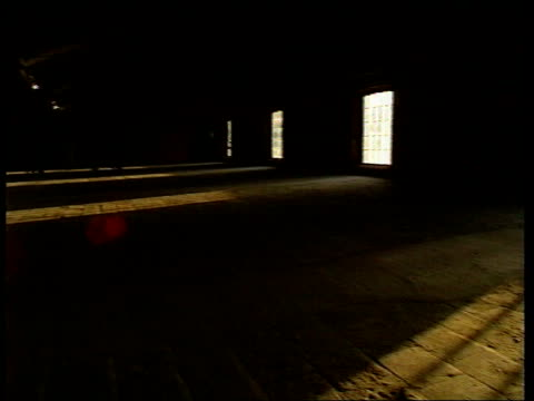 New empty room installation causes controversy at Tate Liverpool ENGLAND Liverpool Tate of the North Gallery Empty room art installation with...