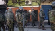 New exchanges of gunfire were heard Saturday in the giant Rocinha favela in Rio de Janeiro a day after hundreds of soldiers and police were sent to...
