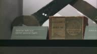 New exhibition explores the history of Tower Bridge INT General view Tower Bridge exhibition Dirk Bennett interview SOT CUTAWAYS exhibition items...