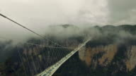 New glass bridge of Hunan China