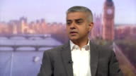 New Mayor of London Sadiq Khan saying he was disappointed that the Conservative party's campaign was 'nasty negative and divisive'