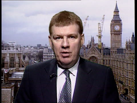 CJD New means of detection/surgical instruments fear ITN London Westminster Professor Liam Donaldson interview SOT Must take measures based on hard...