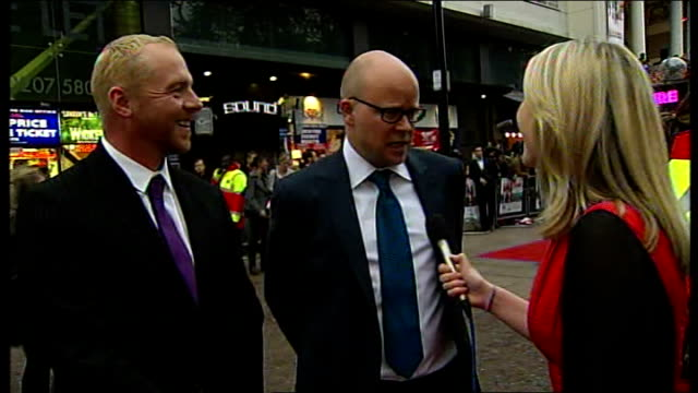 New movie 'How to Lose Friends Alienate People' premieres in Leicester Square ENGLAND London Leicester Square PHOTOGRAPHY * * Toby Young LIVE red...