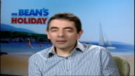 New Mr Bean film / interview Rowan Atkinson Rowan Atkinson interview SOT it was something I enjoyed doing very much