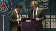 New Paris Saint Germain manager Laurent Blanc has said he is unfazed by not being the first choice to replace Carlo Ancelotti at the French league...
