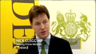 London INT Nick Clegg MP interview SOT if you introduce it slowly and over time in consultation with small and large businesses in the end what you...