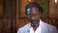 New production of Clarke Peters hit musical Five Guys Named Moe ENGLAND London INT Clarke Peters interview SOT