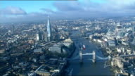 New scheme to double number of commuters on River Thames LIB R05121203 / TX ** Trimmer LIVE 2WAY interview overlaid SOT ** AIR VIEWS / AERIALS along...